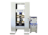 Universal testing machine 1200kN for metal tensile tests on shoulder and thread samples