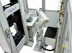 automated test cell for metal tensile tests
