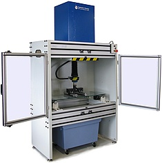 Glass testing machine
