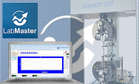 Material testing software LabMaster from Hegewald and Peschke