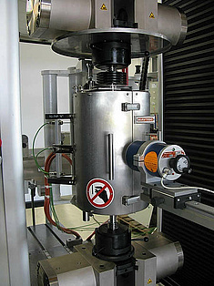 Universal testing machine inspekt 250kN with warm tensile device