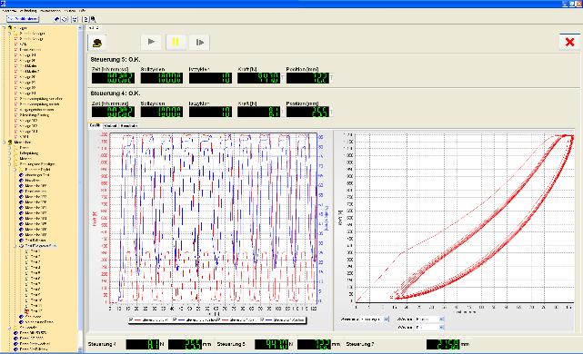 . Testing software CalMaster